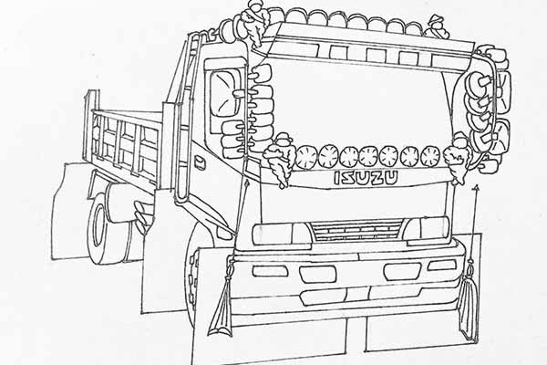 Automotive Drawing Techniques